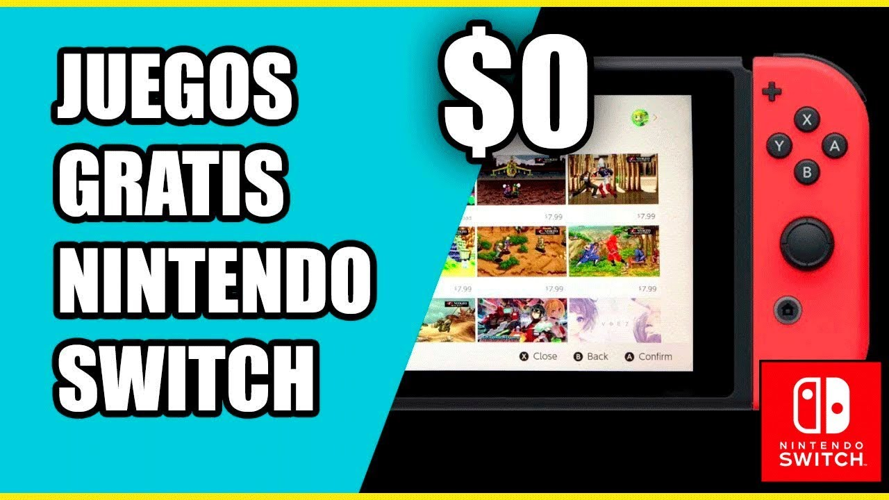 Como Descargar Juegos Gratis En Nintendo Switch Switchero Nintendo Youtube