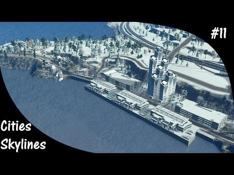 Cities Skylines S3E11 International Cruise ship Harbor