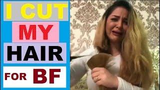 I CUT MY HAIR AFTER MY BOYFRIEND LEFT ME
