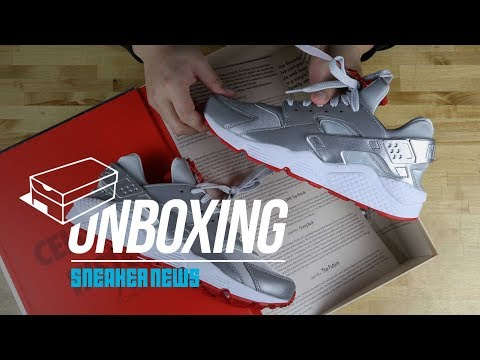 500 Pairs Only! Unboxing Shoe Palace x Nike Huarache