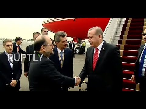 LIVE: Erdogan arrives in Tehran and holds joint press conference with Rouhani
