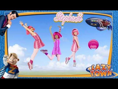 ZIGGY LAZY TOWN CHALLENGE: Stephanie - Dance Movie ( Compilation )