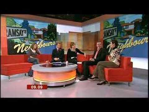 Jackie, Alan and Natalie  BBC Breakfast  November 2006