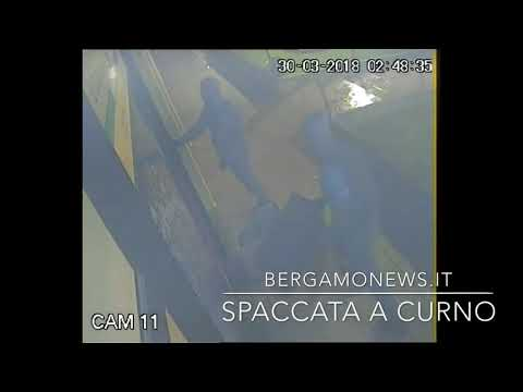 Spaccata all'Italian Optic di Curno