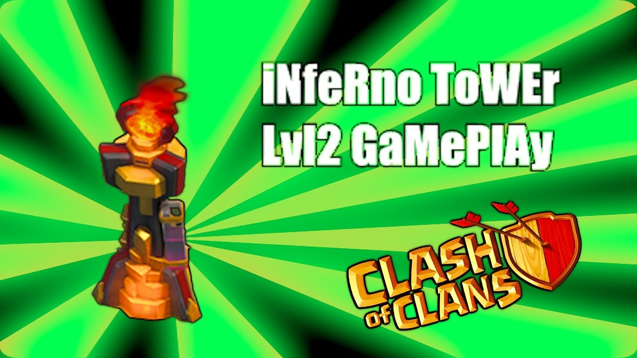 Clash of clans - inferno tower gameplay - YouTube