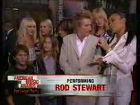 monica interviews rod stewart