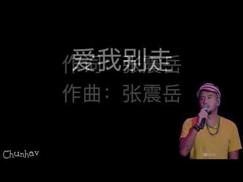 张震岳-爱我别走【歌词】