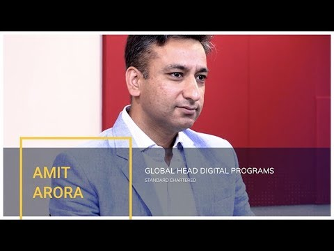Amit Arora from Standard Chartered - Interview recorded at #EfmaAsia17