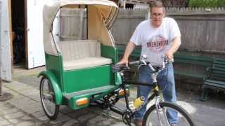 How To Fold American Flag - Memorial Day Salute - BikemanforU Pedicab