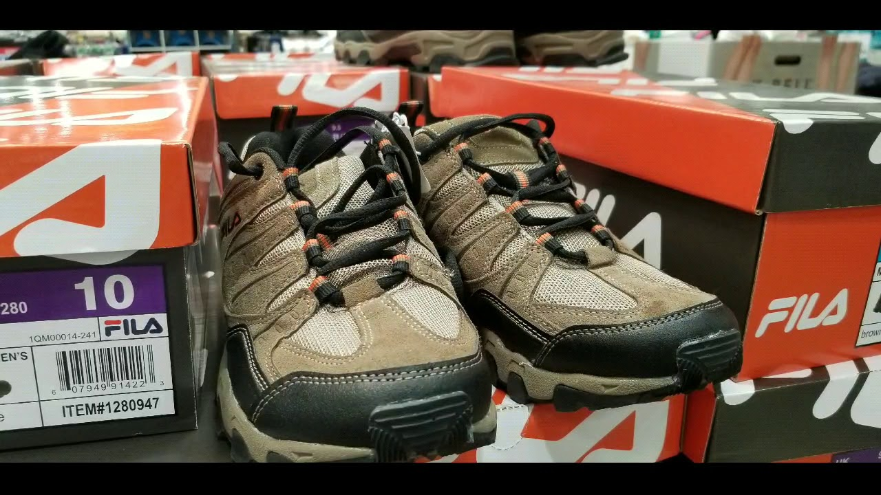 Costco! FILA Men's Day Hiker Shoes! $19 ( On sale $15)!