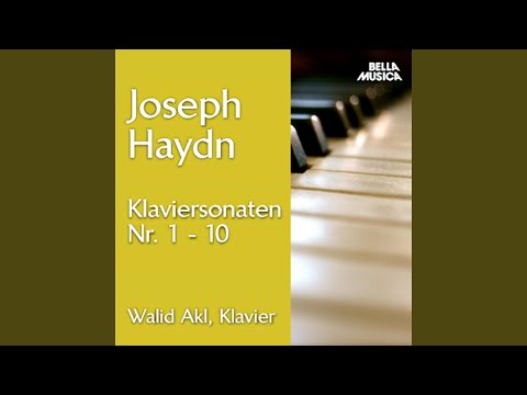 Klaviersonate No. 1 in G Major, Hob. XVI:8: IV: Allegro