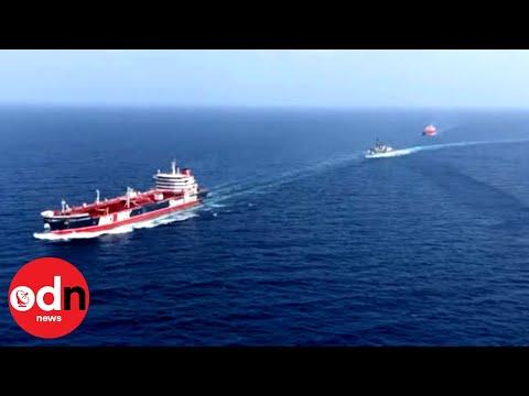 British Warship Escorts Oil Tankers in Strait of Hormuz
