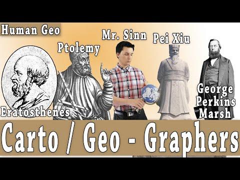 Important Cartographers & Geographers