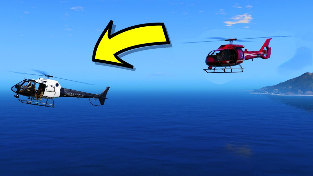 WHAT HAPPENS IF YOU FOLLOW A POLICE HELICOPTER IN GTA 5?