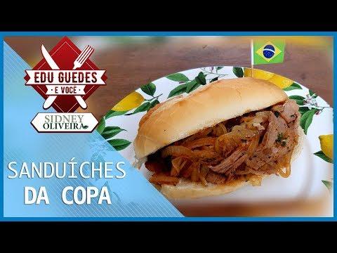 No clima da Copa, aprenda a preparar sanduíches com ingredientes de outros países