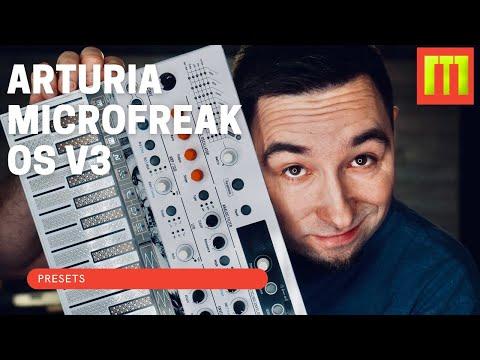 ARTURIA MICROFREAK OS V3 PRESETS