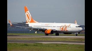 Full Flight: Guarulhos / Sao Paulo (SBGR) to Recife (SBRF) 737-800 Gol Linhas Aéreas