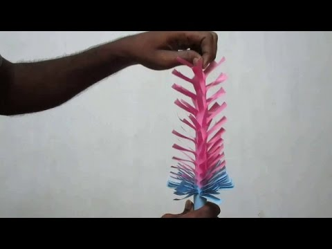 Indian Paper Art - Indian Paper Art Instructions For Beginners (Part - 2)