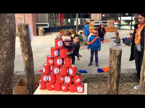 Koningsspelen 2017 op Kindcentrum De Aventurijn in Middelburg