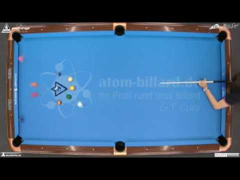 Stuttgart Open 2014, No. 21 Final Marco Dorenburg vs. Christian Reimering, 10-Ball, Pool-Billard