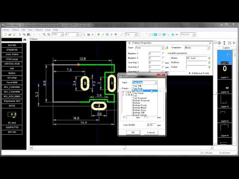 DipTrace Create Schematic [swe] - YouTube on