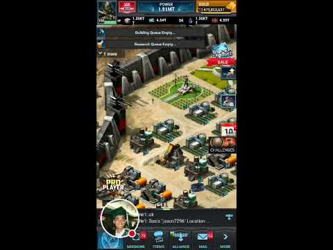Mobile Strike 101 - Mobile Ops new shit! base getting maxed out now!