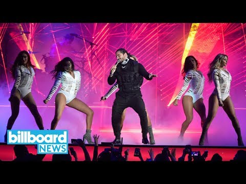 Maluma Spices It Up With 'El Préstamo' Performance at Billboard Latin Music Awards | Billboard News