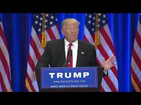 Donald Trump Anti Hillary Clinton FULL Speech 6/22/16