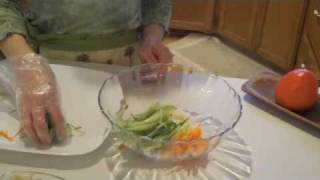 Vegetable Bibimbap (ya Chae Bibimbap)