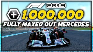Maxed Out Mercedes In F1 2019 Career Mode Is A Monster! | F1 2019 Game Experiment