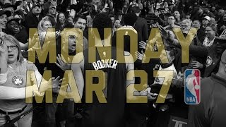 Repeat youtube video NBA Daily Show: Mar. 27 - The Starters