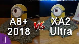 Sony Xperia XA2 Ultra vs Samsung Galaxy A8 Plus 2018 Camera Test