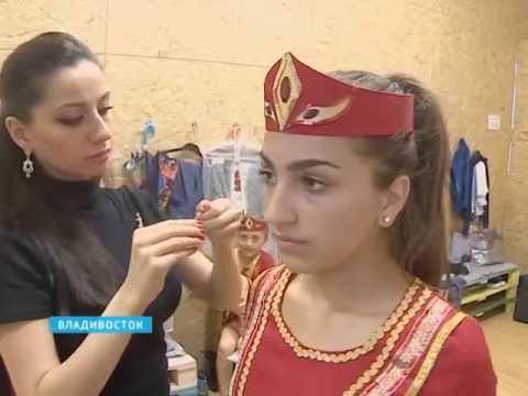 Ансамбль танца «Армения» готовит к показу на IV-ом конгрессе народов Приморья новую программу