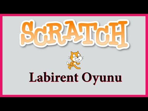 Scratch Labirent Oyunu