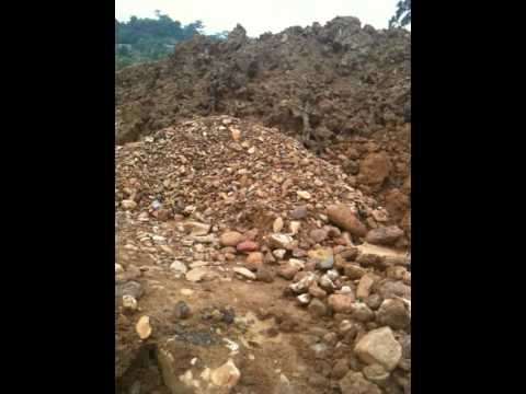 eagle security international  inspects gold mine in ghana 01/ 02/ 2010