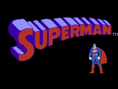Superman - NES Gameplay