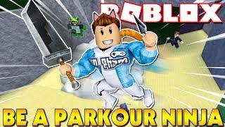 Roblox   KHI KIA MUỐN HỌC PARKOUR NHƯNG BA MẸ BẮT HỌC NINJA - Be A Parkour Ninja   KiA Phạm