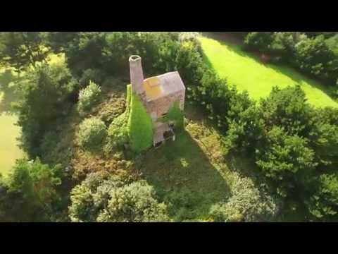St Agnes by drone