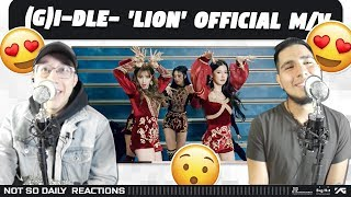 Gambar cover NSD REACT | (여자)아이들((G)I-DLE) - 'LION' Official Music Video