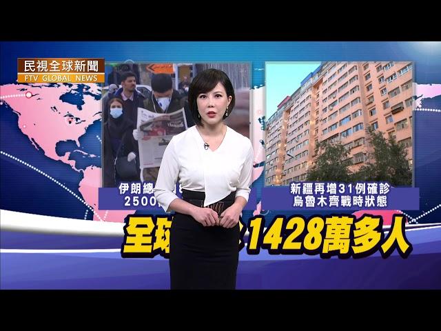 【民視全球新聞】全球新增25.9萬確診 創下單日新高紀錄 2020.07.19