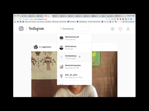 Mapping and research in social media - for Hochschule der Medien, Stuttgart