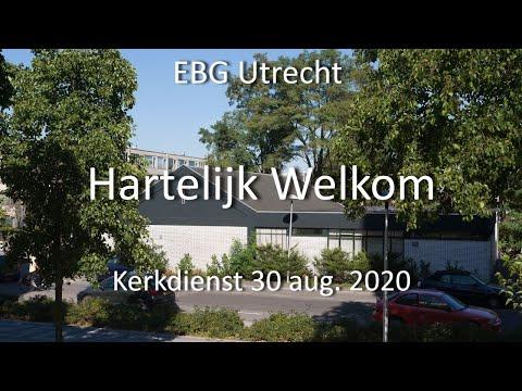 EBG- Utrecht Dienst 30 aug. 2020