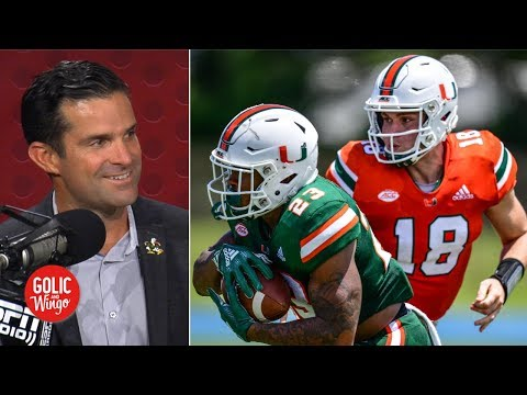 Hurricanes Coach Manny Diaz On Returning To Miami, Building 2019 Roster | Golic And Wingo
