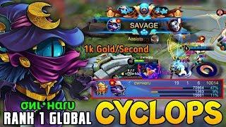 Cyclops Powerful Damage SAVAGE Plays! | Buih-Buih Terkutuk Si Mata Satu - Rank 1 Cyclops σиι•нαɾυ