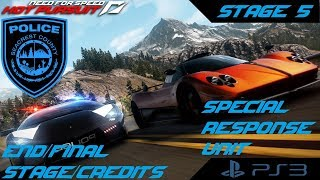 Need for Speed Hot Pursuit (PS3) - Stage 5/END [Cop Career] (Special Response Unit)