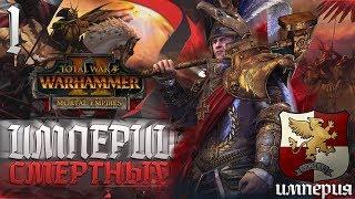 Стрим в 12:00 по Мск - ИМПЕРИЯ В ИМПЕРИЯХ СМЕРТНЫХ на Легенде в Total War: Warhammer 2