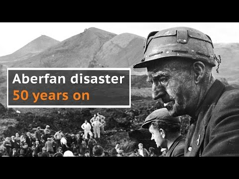 Aberfan disaster: Archive footage of the coal tip landslide that killed 116 children