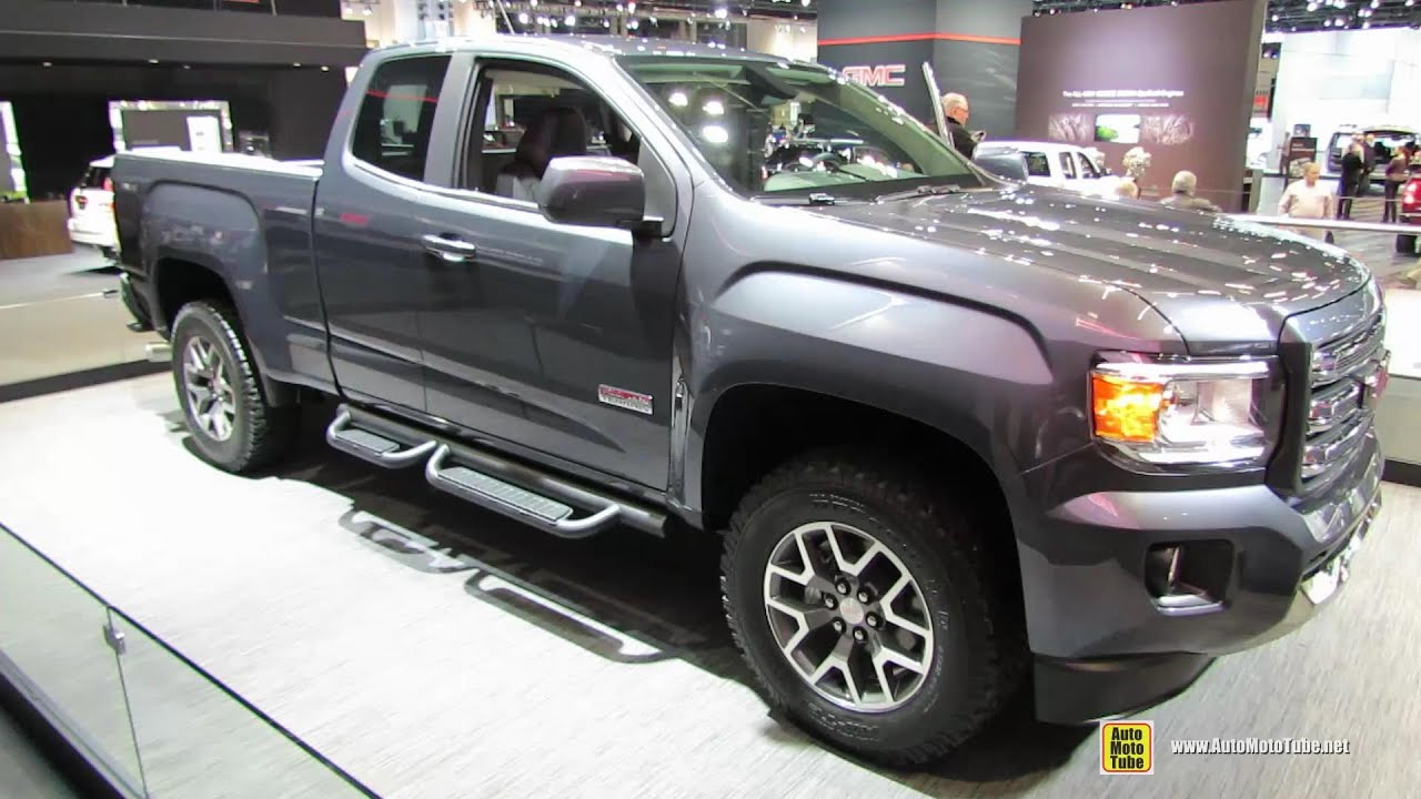 2015 GMC Canyon All Terrain   Exterior And Interior Walkaround   2014  Chicago Auto Show   YouTube