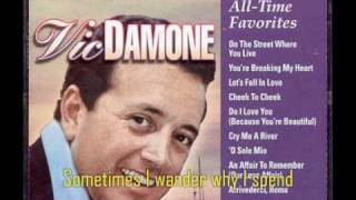 Watch Vic Damone Stardust video