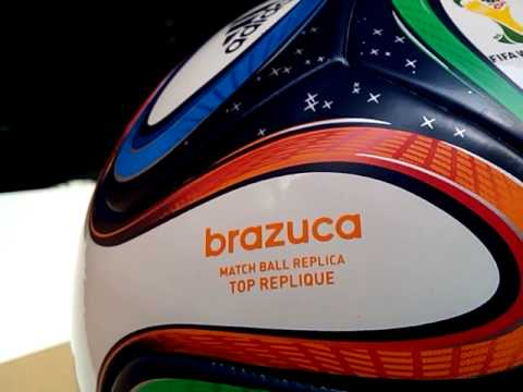 Inbox Brazuca Original March Ball - YouTube cb29de3fb75f5